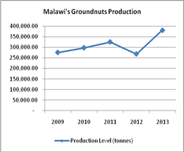 Malawi's Groundnuts Production